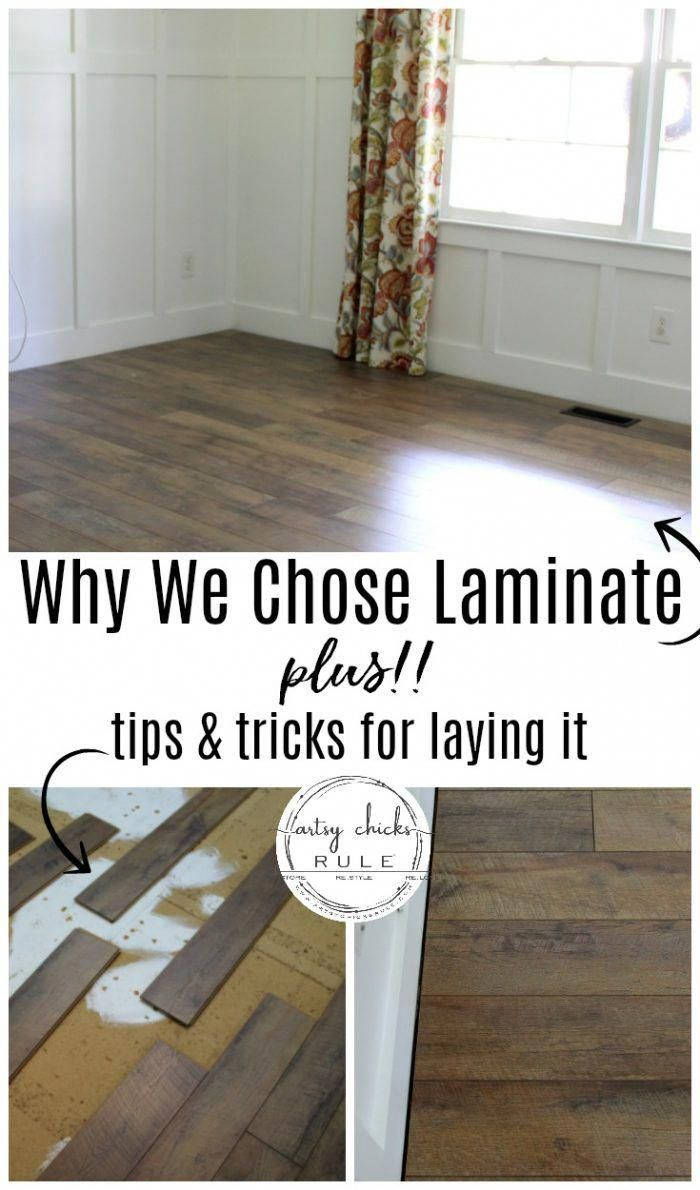 Installing Laminate Flooring With Tips Tricks Laminate Flooring Diy Diy Flooring Installing Laminate Flooring