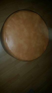 Hocker mit hell braunem Lederoptik Überzug in Berlin - Steglitz | Sessel Möbel - gebraucht oder neu kaufen. Kostenlos verkaufen | eBay Kleinanzeigen
