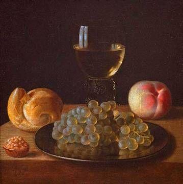 Sebastian Stosskopf - Römer, Brot und Früchte