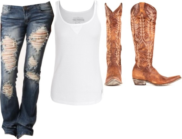 """hell raisin sugar"" by small-town-country-gurl on Polyvore"