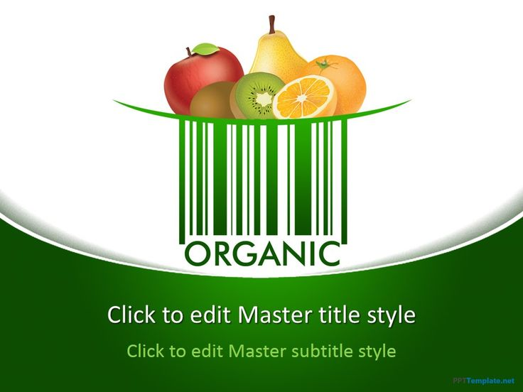 Free Organic PPT Template gives The Best Dietary Plan for Workout Goal #natural #food #fruits #orange #peach #healthy #diet #powerpointtemplates