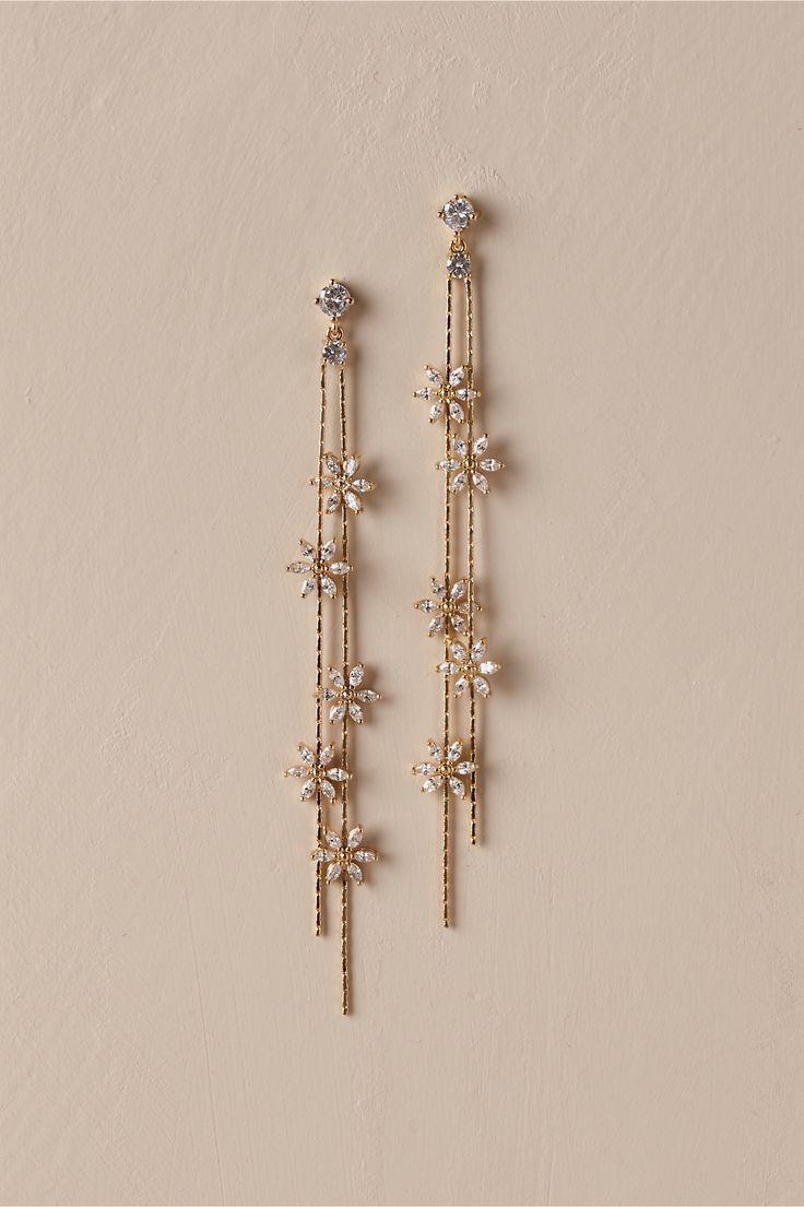 BHLDN Theia Jewelry Tasmin Tropfen Ohrringe in Gol…