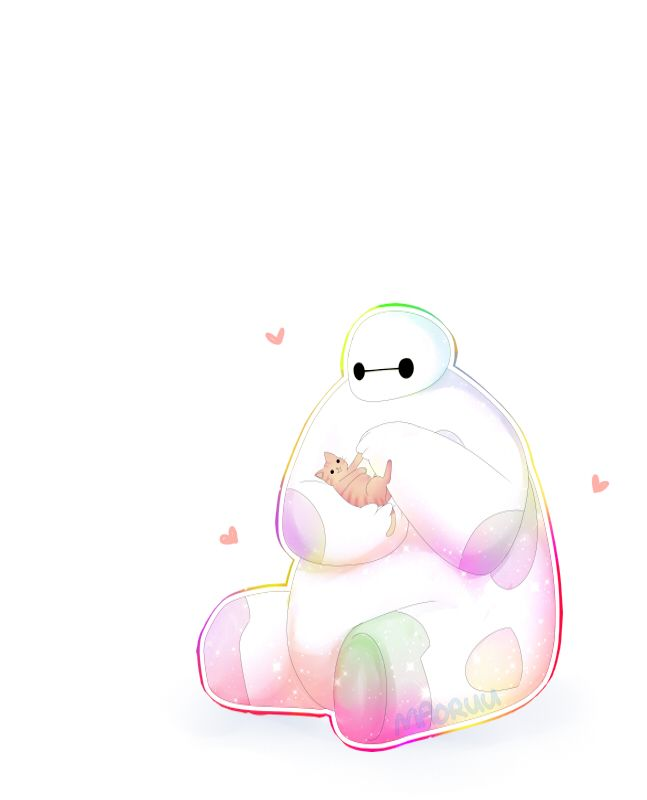 This is baymax he's so cute !!! Really wanna see this movie                                                                                                                                                                                  More