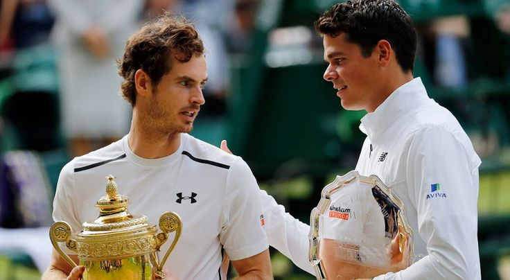 Britain's Andy Murray became Wimbledon champion for the second time with a superb performance against Canadian sixth seed Milos Raonic in the final. The Scot, 29, dismantled the Raonic serve in a 6-4 7-6 (7-3) 7-6 (7-2) victory to repeat his triumph of 2013 winning £2m