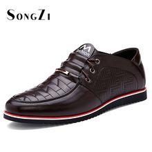 2016 nuevos zapatos para hombre de cuero cuadros de la oficina Oxford zapatos para hombre de alta calidad de vestir para hombre italiano zapatos de cuero formales(China (Mainland))