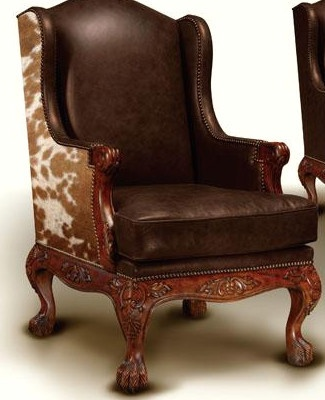 17 Best Images About Wing Chair Makeover On Pinterest