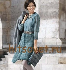Твидовая юбка выкройка и схема