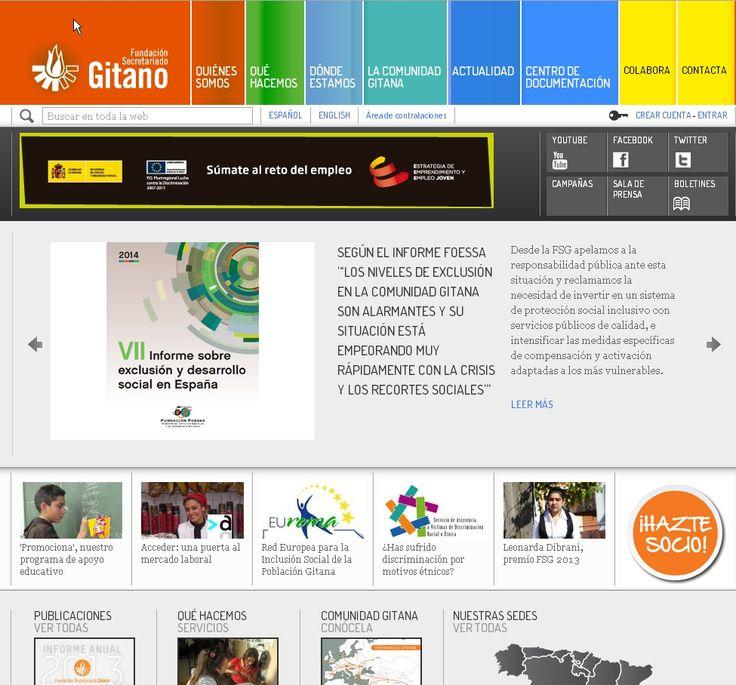ENLACES.  Fundación Secretariado Gitano