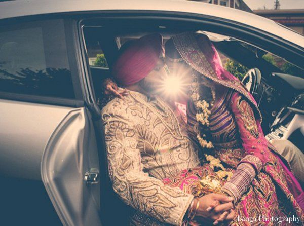 This Indian wedding is a gorgeous extravaganza featuring two beautiful photo shoots, two elaborate receptions, and a stunning ceremony.