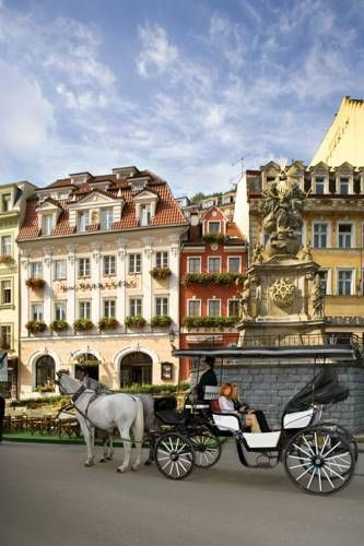 Promenáda Romantic & Wellness Hotel (Tržiště 31) Located in the heart of Karlovy Vary's spa area next to healing springs, right next to the Tržní Colonnade and steps away from the Hot Spring, Hotel Promenada features its own spa area with an indoor pool. #bestworldhotels #hotel #hotels #travel #cz #karlovyvary