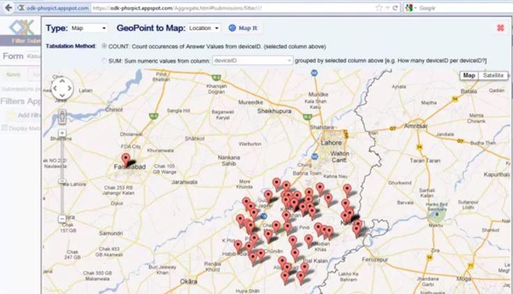 ¿Cómo geolocalizar gratis mi información geográfica? Avances en las tecnologías existentes en la captación de datos geográficos desde terminales móviles.
