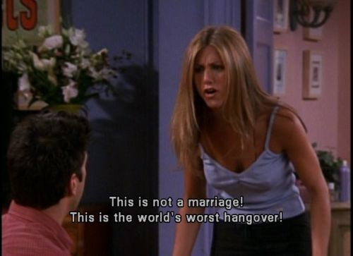 Is that the Rachel from the second wedding?