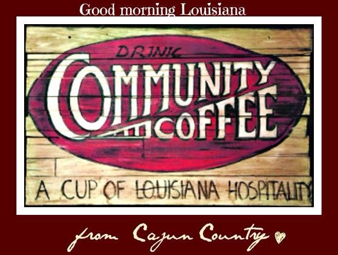 Community Coffee, a staple in Louisiana Cajun homes
