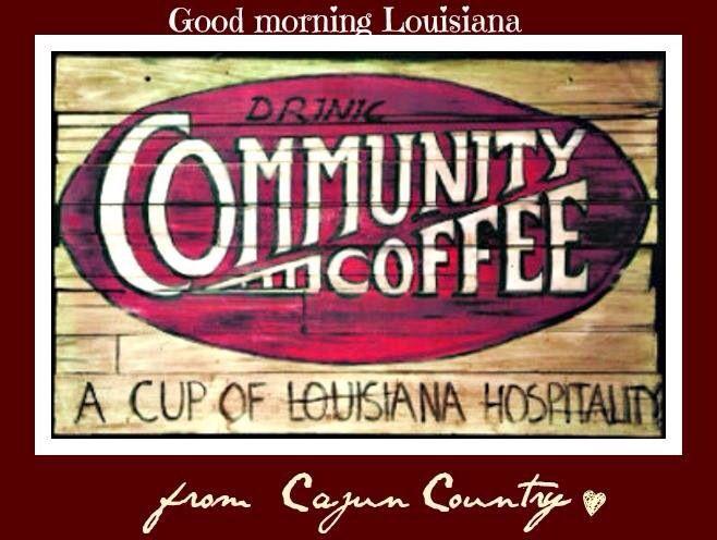 Community Coffee, a staple in Louisiana Cajun homes