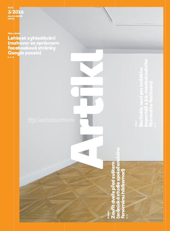 úvodník | Lehkost | ARTIKL