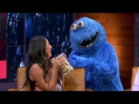 Carla Esparza's Run In With the Cookie Monster - YouTube