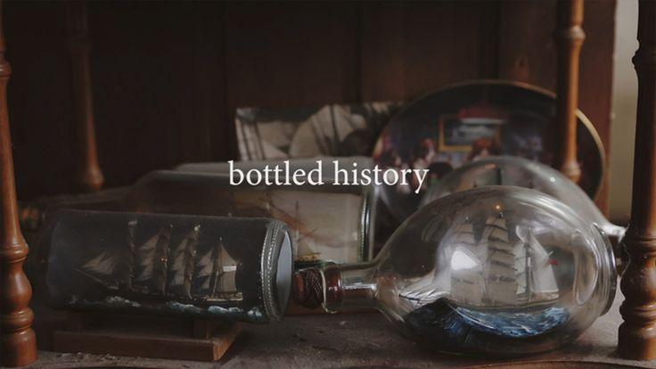 'Bottled History' - The Craft of Ships in Bottles