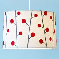 DIY Lampshade: Turn a plain white paper lamp shade into eye candy!