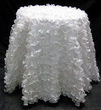 Elegant Fancy White Tablecloth   Google Search