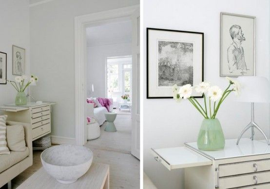 Beautiful House in White ~ http://qo-home.com/home-design-for-happy-family/