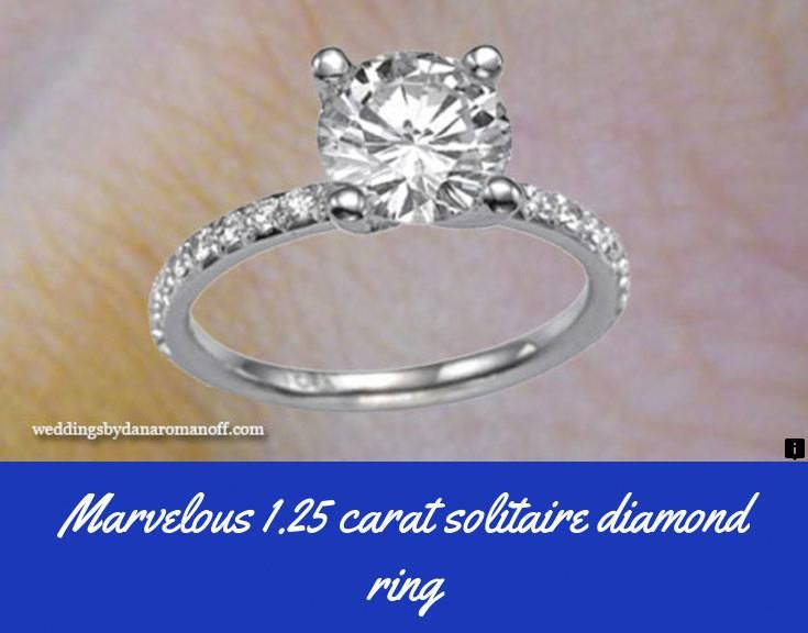 Find Out About 1 25 Carat Solitaire Diamond Ring Please Click Here To Rea Beautiful Diamond Engagement Ring Hottest Engagement Rings Perfect Engagement Ring