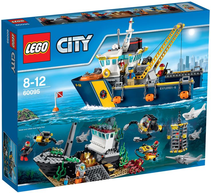 Afbeelding van http://jaysbrickblog.com/wp-content/uploads/2015/09/LEGO-60095-Deep-Sea-Exploration-Vessel-Box-Art.jpg.