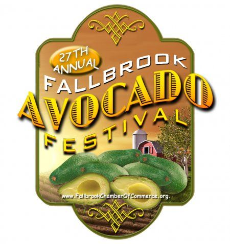 The 27th Annual Avocado Festival is Sunday, April 21, 2013 9am-5pm!  Arts & Crafts • Farmer's Market Food Courts * Beer Garden* Live Entertainment *Guacamole Contest *Children's Activities * and much, much more!