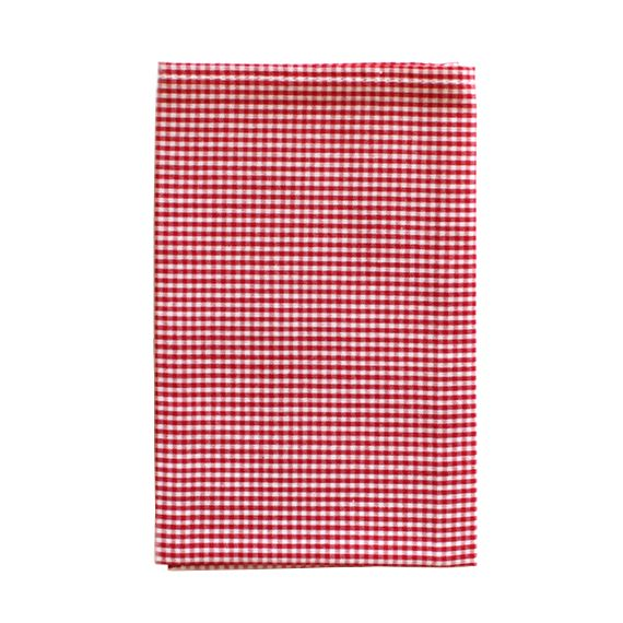 Red Gingham Hanky
