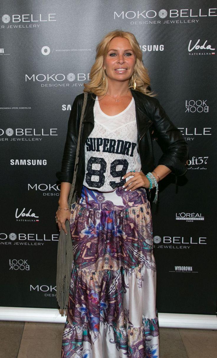 Natalia Jaroszewska w biżuterii MOKOBELLE #mokobelle #mokobellejewellery #jewellery #jewelry #bransoletka #lifestyle #bijou #stars
