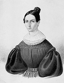 Therese daughter of Carl Friedrich Gauss -
