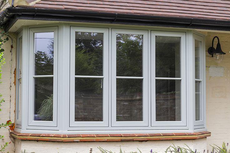 Solarlux SL 60e Bi-Folding Doors, Halo Flush uPVC Windows and Apeer Composite Front Door, West End, Surrey - Thames Valley Windows