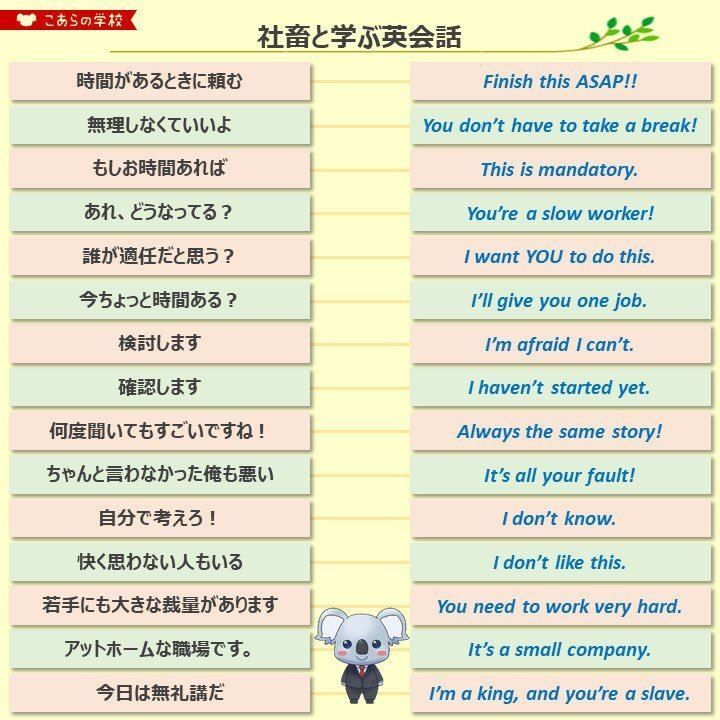 英語 不 明瞭
