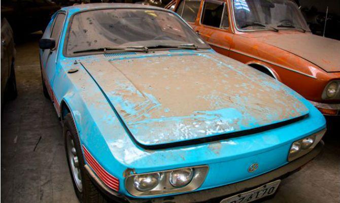 Leilão no RS guarda veículos raros - mercado - curiosidades - Jornal do Carro