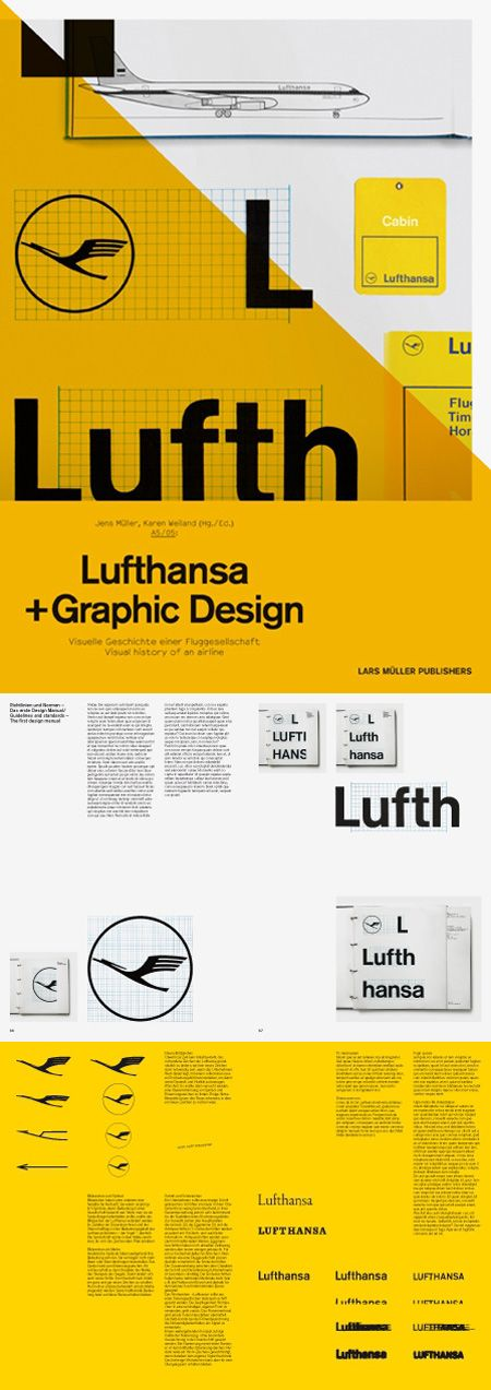 Lufthansa + Graphic Design: Visual History of an Airline
