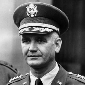 Supreme commander of U.S. Forces in the Vietnam conflict U.S. General  William Westmoreland, Charleston, S,C.