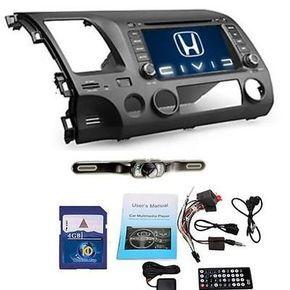 $285.00 US 7'' Honda Civic 2007 2008 2009 2010 2011 Car GPS Nav Stereo DVD Player+Camera