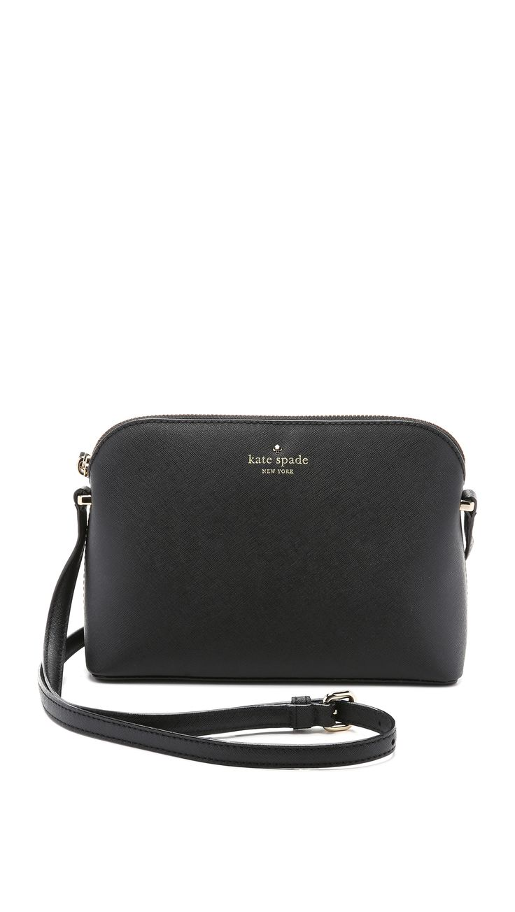 Kate Spade New York Mandy Dome Cross Body Bag - Black | SHOPBOP.COM saved by #ShoppingIS