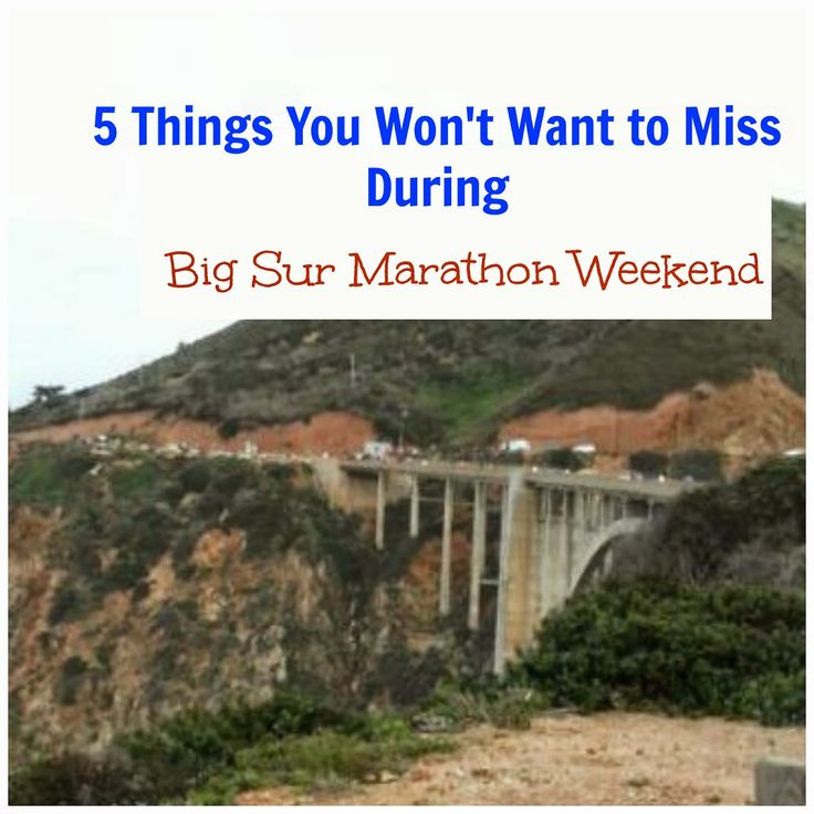 All the Extra Things to Love about the Big Sur Marathon