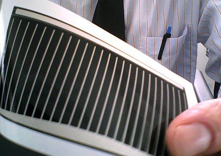 Des panneaux photovoltaïques imprimés à la vitesse de l'éclair