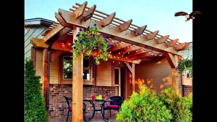 Las 25 mejores ideas sobre pergolas modernas en pinterest for Zocalos para patios modernos