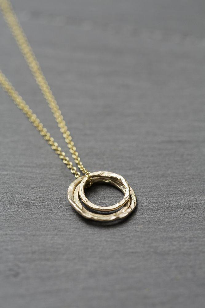 Image of Ana gold necklace. Atelierpurple