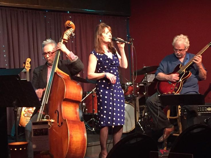 Performance at the Jazz Station Eugene. Maggie Laird Vcl, Steve Kim Bass, Todd Zimberg Drms, Lonnie Mardis Gtr.