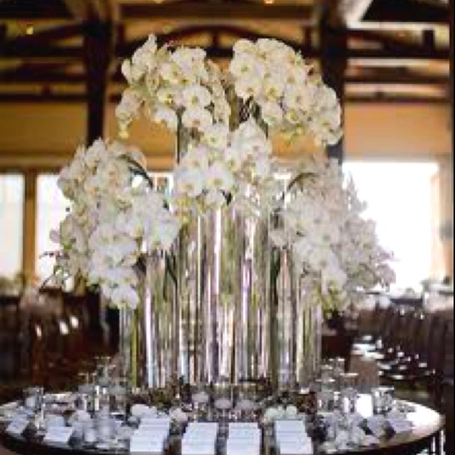 Best images about white orchid centerpieces on