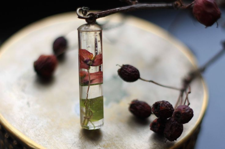 Scarlet #Pimpernel necklace with eco resin and bronze chain, seductive #potions line, made in #Ireland, #wildflower, #romantic, #ecoresin #botanicaljewelry by GoldenForestBoutique on Etsy https://www.etsy.com/ie/listing/526720205/scarlet-pimpernel-necklace-with-eco