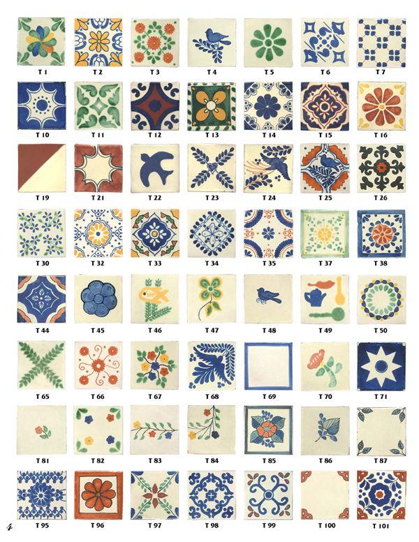Talavera tiles for kitchen backsplash