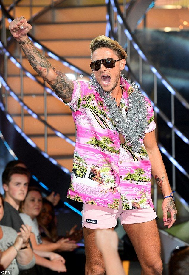 King of the house: Controversial Stephen Bear has won Celebrity Big Brother