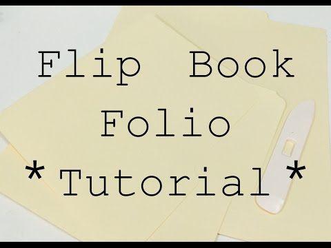 Flip Book Folio Tutorial Series:Flip Book Folio #1 - YouTube