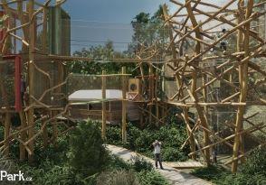3D bludiště - unikátní lanové centrum pro rodiny s dětmi   Unipark