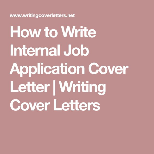 The 25+ best Application cover letter ideas on Pinterest Cover - how to write cover letter for job
