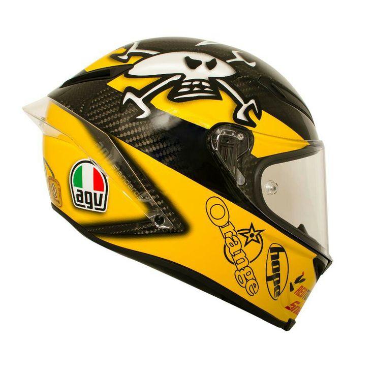 Guy Martin helmet replica